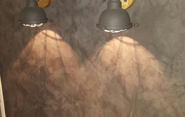 Betonlook muur verf